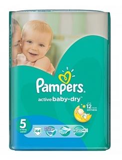 """Подгузники Pampers Active Baby Dry Junior со скидкой 10% в аптеке """"Классика""""!"""