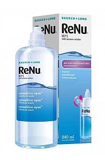 """В аптеке """"Классика"""" скидка 25% на раствор RENU MPS для чувствительных глаз"""