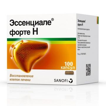 Купить онлайн эссенциале форте н 300 мг капсулы №30 по низкой цене.