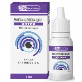 Моксифлоксацин-Оптик