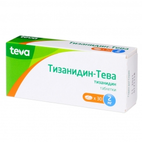 Тизанидин-Тева