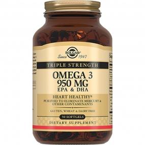 Тройная Омега-3 950 мг ЭПК и ДГК