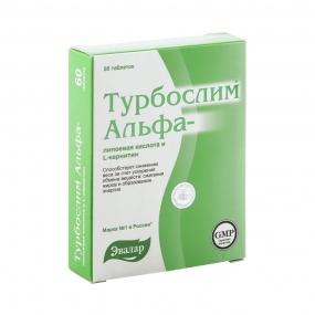 Турбослим Альфа-липоевая кислота L-карнитин