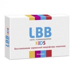 ЛББ лакто и бифидо бактерии Кидс